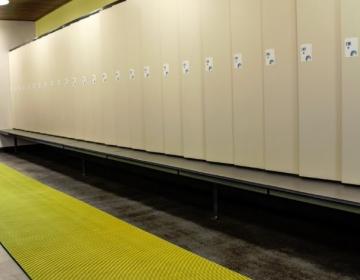 nerostep riietusruumi pehme põrandamatt rullis kollane