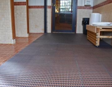 Pesuruumi põrandamatt kate 2