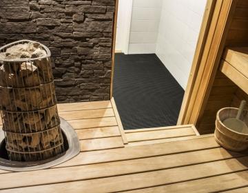 Nerostep sauna, leiliruumi põrandamatid