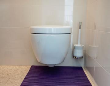 WC tualettruumi põrandamatt rullis 2