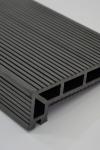 Puitplastkomposiidist (WPC) servalaud   õõnes laud   4 meetrit   grafiit