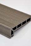 Puitplastkomposiidist (WPC) servalaud   õõnes laud   4 meetrit   tumepruun
