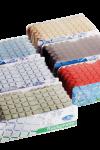Mosaiik ruudumatt pesuruumi Aqua-sinine | 3 PAKKI LAOS